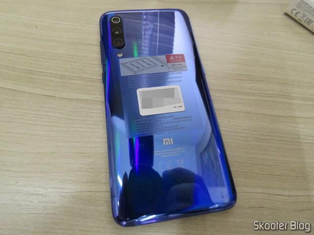 Traseira do Xiaomi Mi 9.