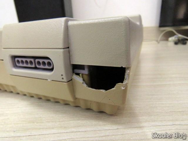 O estrago feito pelo Correios no Super Nintendo da minha infância.