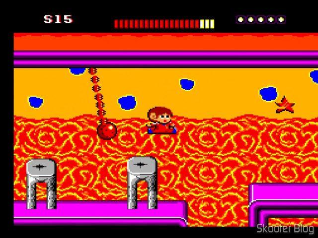 Alex Kidd The Lost Stars - Master System.
