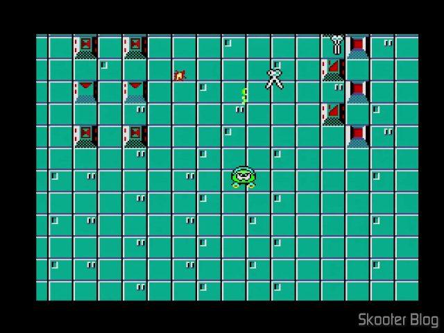 Sapo Xulé S.O.S. Lagoa Poluída - Master System.