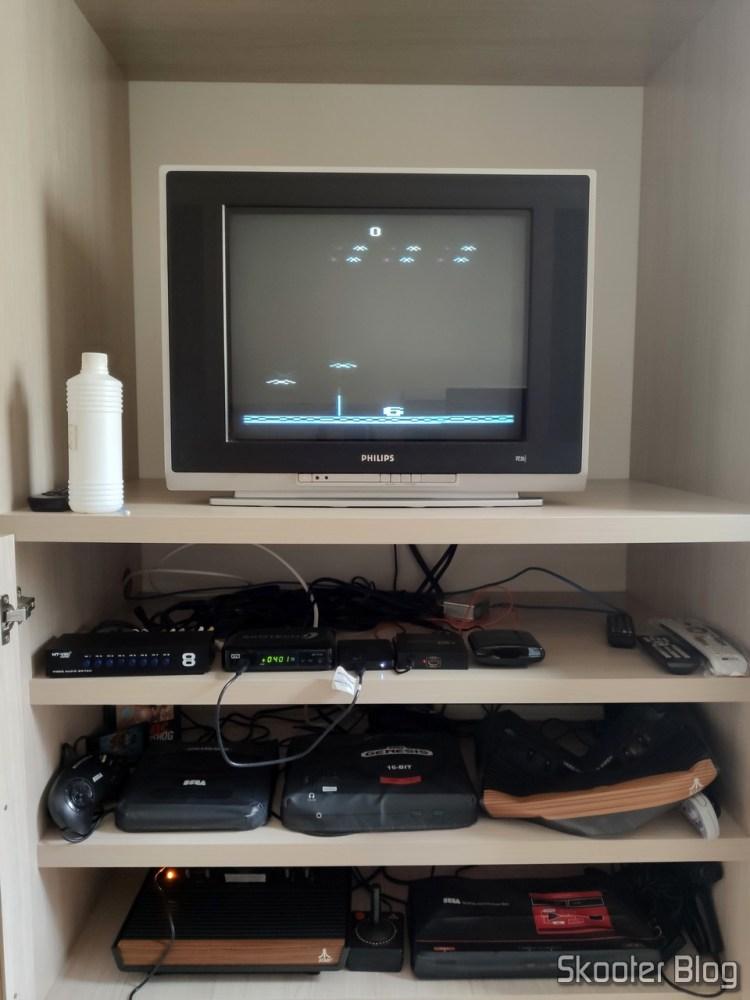 Condor Attack no Atari 2600.