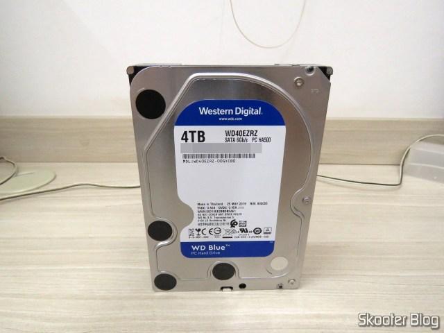 HDD Western Digital Blue 4TB WD40EZRZ.