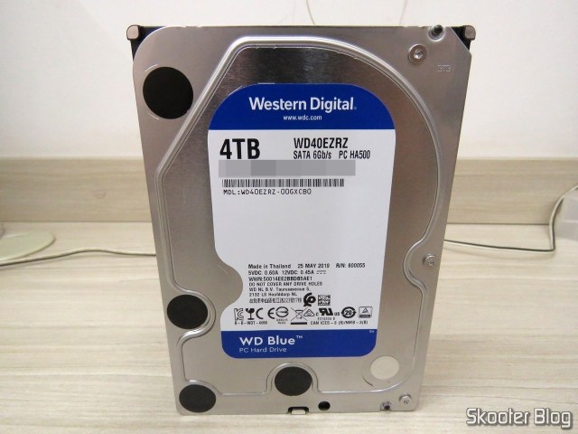 HDD Western Digital Blue 4TB WD40EZRZ.