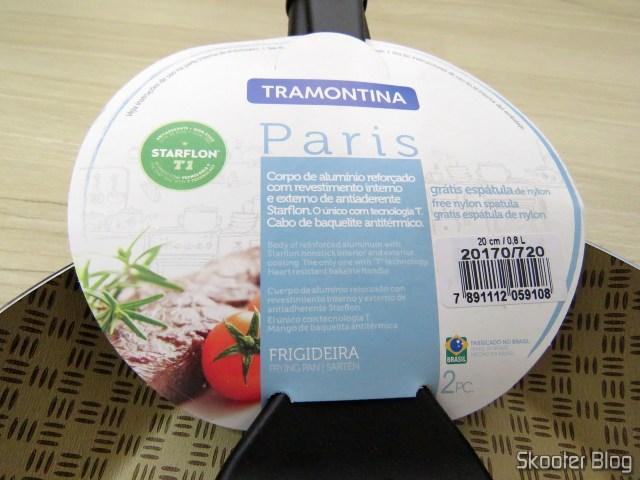 Frying Pan Tramontina Paris Aluminum 20cm