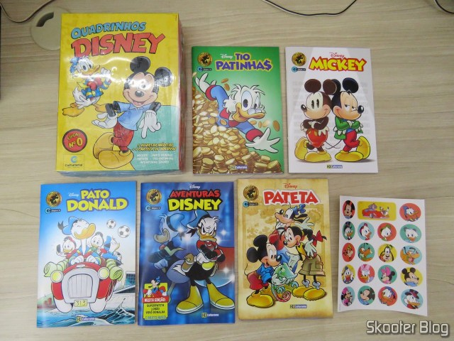 Box Disney Comics - Edition 0: 5 volumes