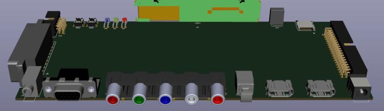 conceptual image OSSC Pro: rear.