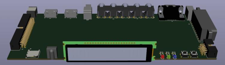 conceptual image OSSC Pro: front.