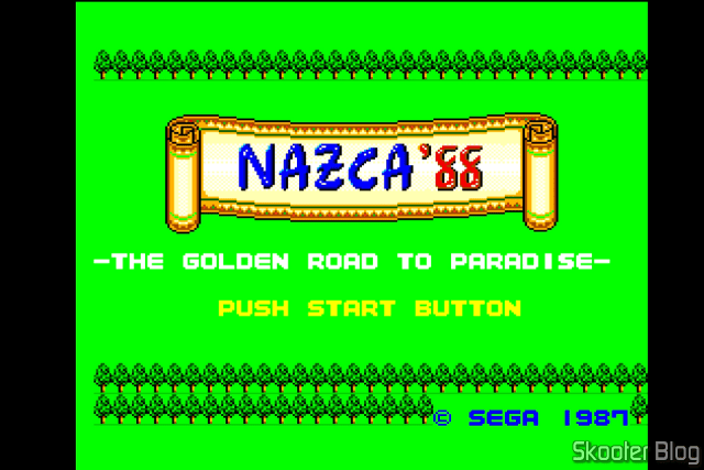 Abertura do Nazca'88 - Master System.