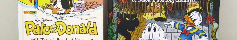 Biblioteca Don Rosa Volume 7 - O Tesouro dos Dez Avatares e Pato Donald Por Carl Barks: O Trenzinho Da Alegria.