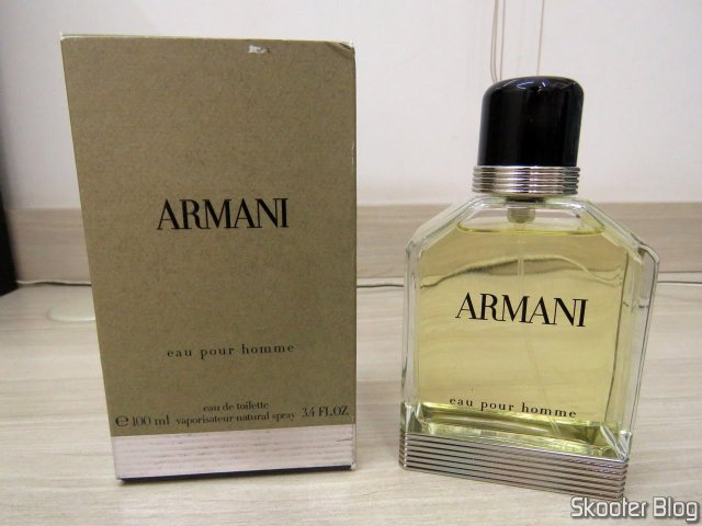 Armani 100 ml EDT Spray (Tester), and its packaging.