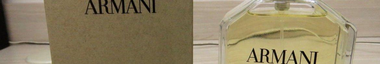Armani 100 ml EDT Spray (Tester), e sua embalagem.