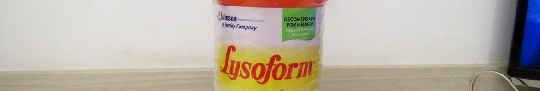 Lysoform Desinfetante Bruto Suave Odor 1 litro.