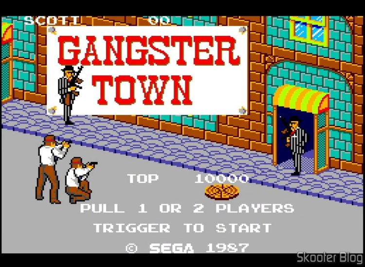 Gangster Town – Master System.