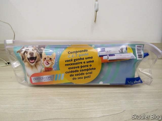Kit Pasta Dental C.E.T Virbac Necessaire + Escova.