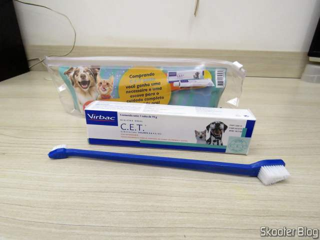 Kit Dental Paste C.E.T Virbac Necessaire + Brush.