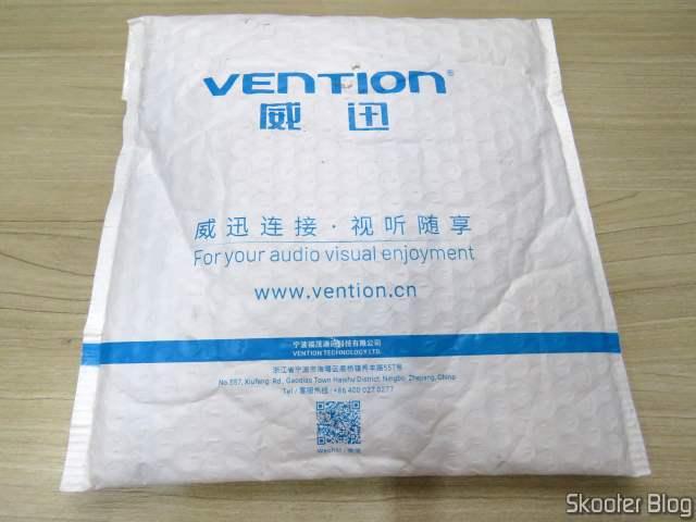 Pacote com o 10º Cabo HDMI 2.0 4K 3D 60Hz Vention de 2 metros.