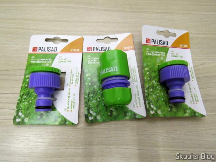 2 Plastic Female Connectors With Bushing 1/2 For 3/4 Com Rosca Interna Palisad e Engate Rápido 1/2'' With Free Pass Palisad.