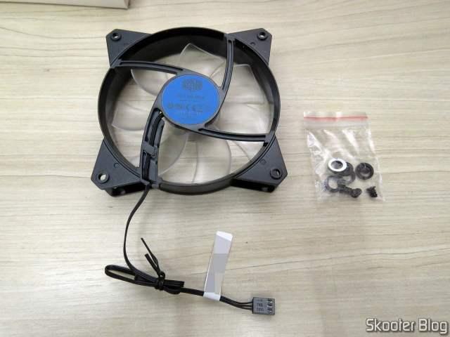 Cooler Master Masterfan MF120L Blue 120mm 12cm LED Azul.