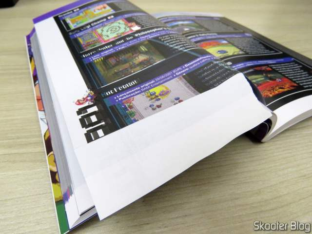 Falha na Impressão do Dossiê Old! Gamer: Game Boy Advance - Volume 19.