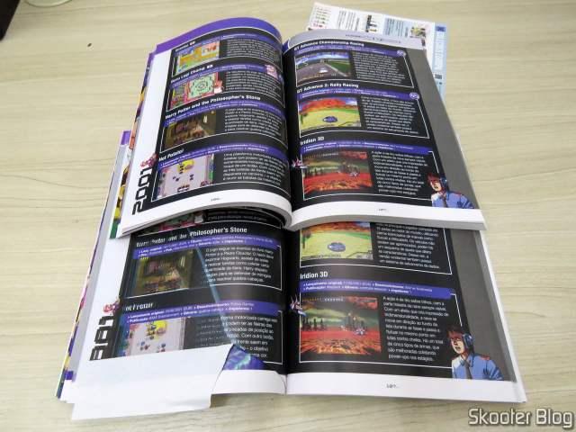 Dossiê Old! Gamer: Game Boy Advance - Volume 19: impressão correta e impressão com problemas.
