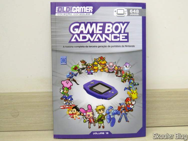 Dossiê Old! Gamer: Game Boy Advance - Volume 19 - Substituição.