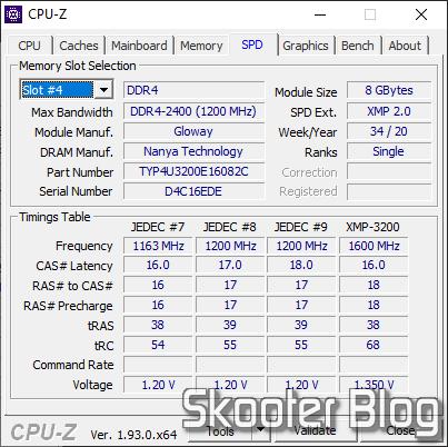 CPU-Z SPD - Módulo 2