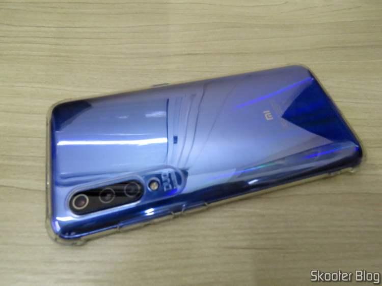 Parte Traseira da Capa para Xiaomi Mi 9 de TPU Macio TCiCPC.