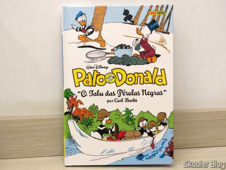 Donald Duck: The Black Pearl Taboo - Carl Barks Vol Collection. 19.