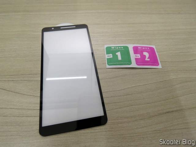 3D Antishock Glass Film for Samsung Galaxy A01 Core.
