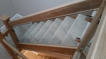Staircase Glass Balustrade