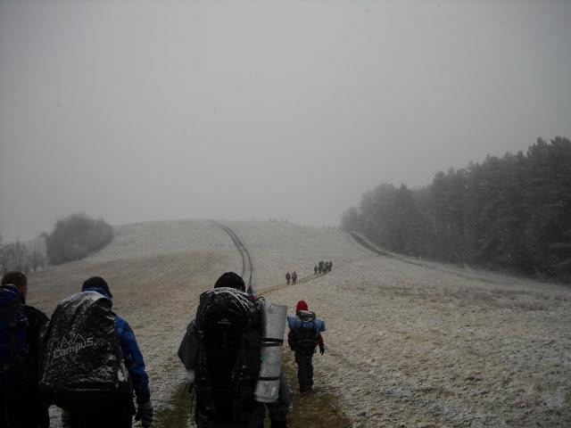 Trochę śniegu jeszcze nikomu nie zaszkodziło :)