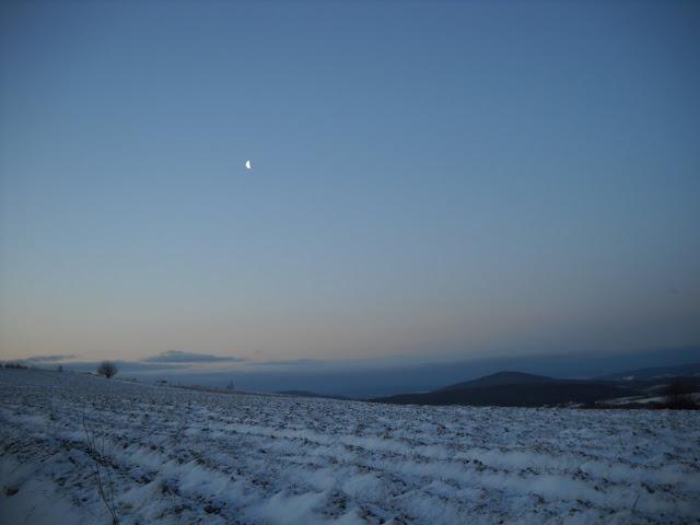 Pasmo Grabówki przed wschodem słońca
