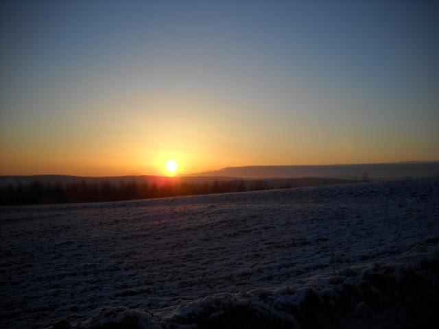 Wstaje słońce - już niedługo koniec