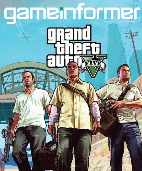 Game Informer GTAV cover
