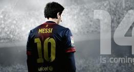 أعلان لعبة FIFA 14 الخاص بحدث E3