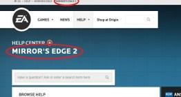 Mirror Edge 2 تظهر بالخطأ علي موقع EA