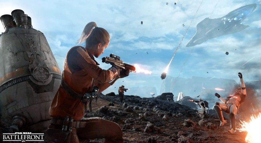 يبدو إن Star Wars Battlefront 2 لن تحتوي على Conquest Mode