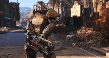 عرض دعم الواقع الافتراضي للعبة Fallout 4 و عالمها المفتوح بشكل كامل
