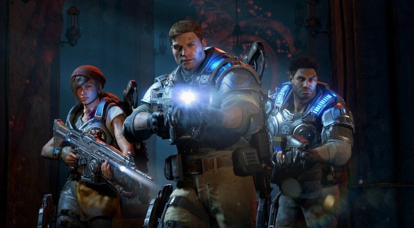 العرض الاول للـHorde Mode في لعبة Gears of War 4