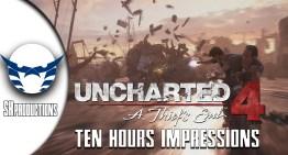 الانطباع عن Uncharted 4 بعد 10 ساعات لعب