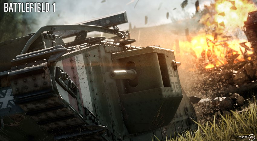 مجموعة فيديوهات جديدة لقصة Battlefield 1 بما فيهم اول 12 دقيقة منها