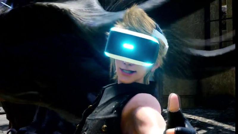 اضافة Game Modeصغير في Final Fantasy XV مدعوم من الـPlayStation VR