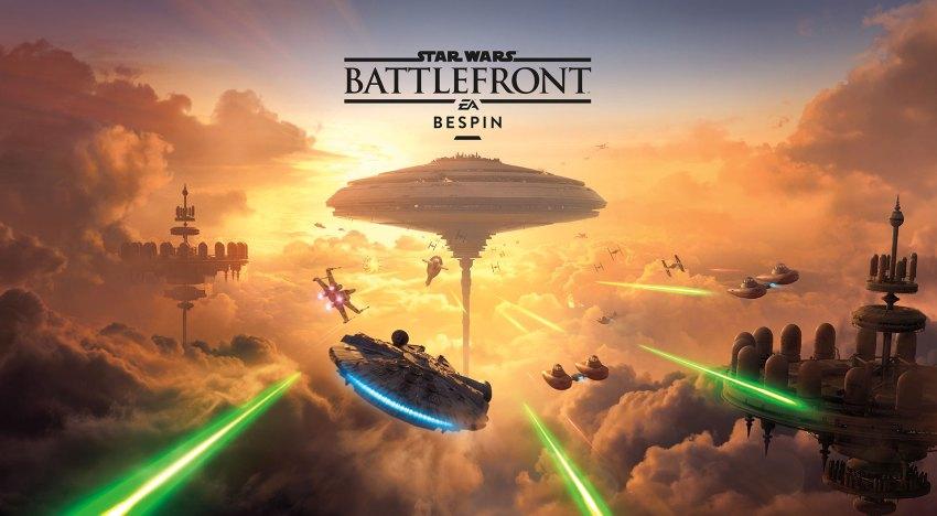 الكشف عن موعد اصدار اضافة Bespin الخاصة بـStar Wars: Battlefront