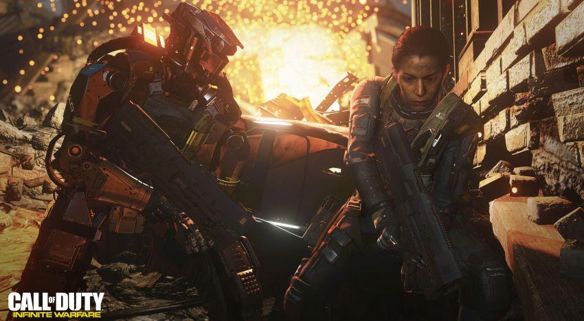 مشهد سينمائي جديد من قصة لعبة Call of Duty: Infinite Warfare