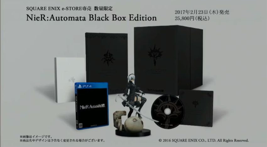 توضيح محتويات نسخة Black Box من NieR: Automata و التأكيد علي Demo للعبة