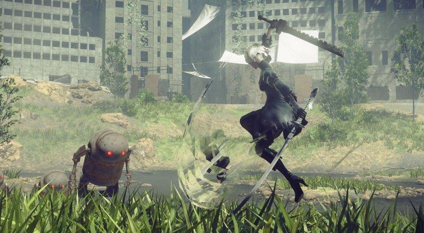 فيديو جديد لـNieR: Automata بيستعرض Crossover مع Final Fantasy XV
