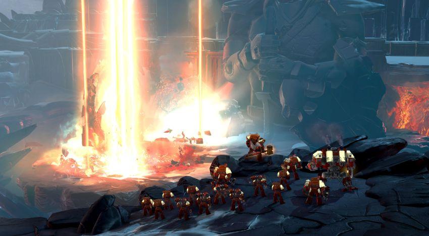 فيديو جديد يستعرض العروض السينمائية والقصة والشخصيات في لعبة Warhammer 40k : Dawn of war III