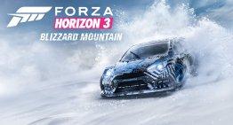 فيديو و صور جديد بمناسبة اصدار اضافة Blizzard Mountain للعبة Forza Horizon 3