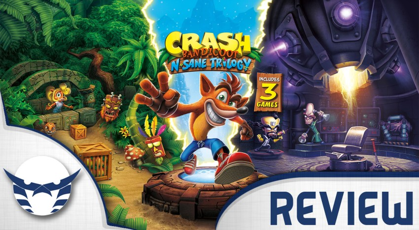 مراجعة Crash Bandicoot N.Sane Trilogy