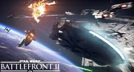 العرض الاول للمعارك الفضائية في لعبة Star Wars Battlefront 2